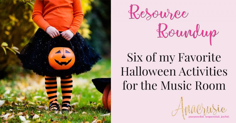 6 Halloween Activities for the Music Room