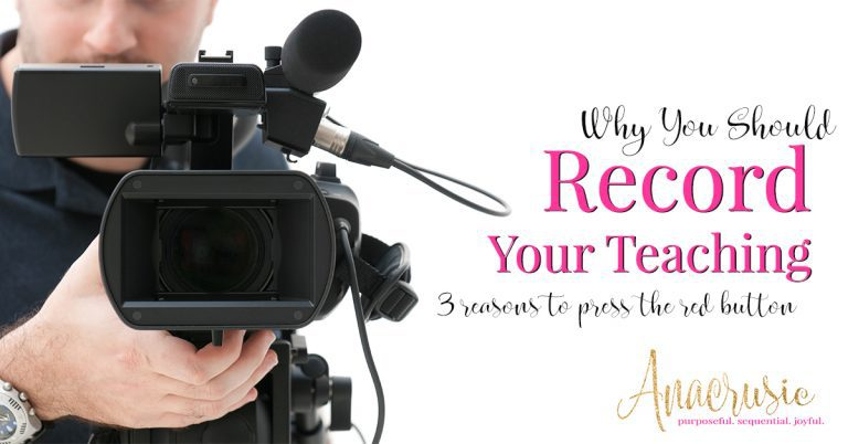 Read more about the article 3 Reasons to Record