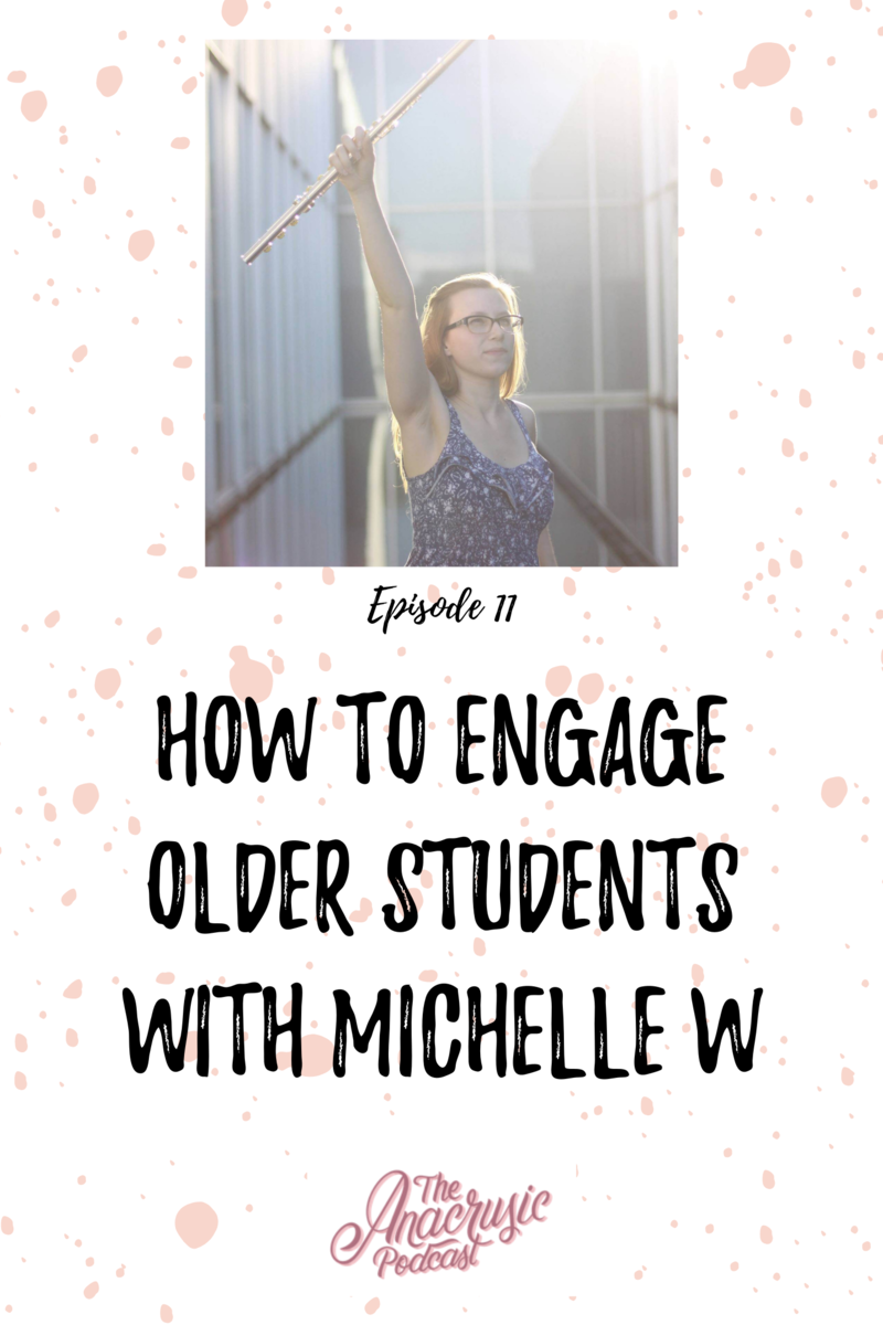 Read more about the article TAP 011 – How to Engage Older Students with Michelle W