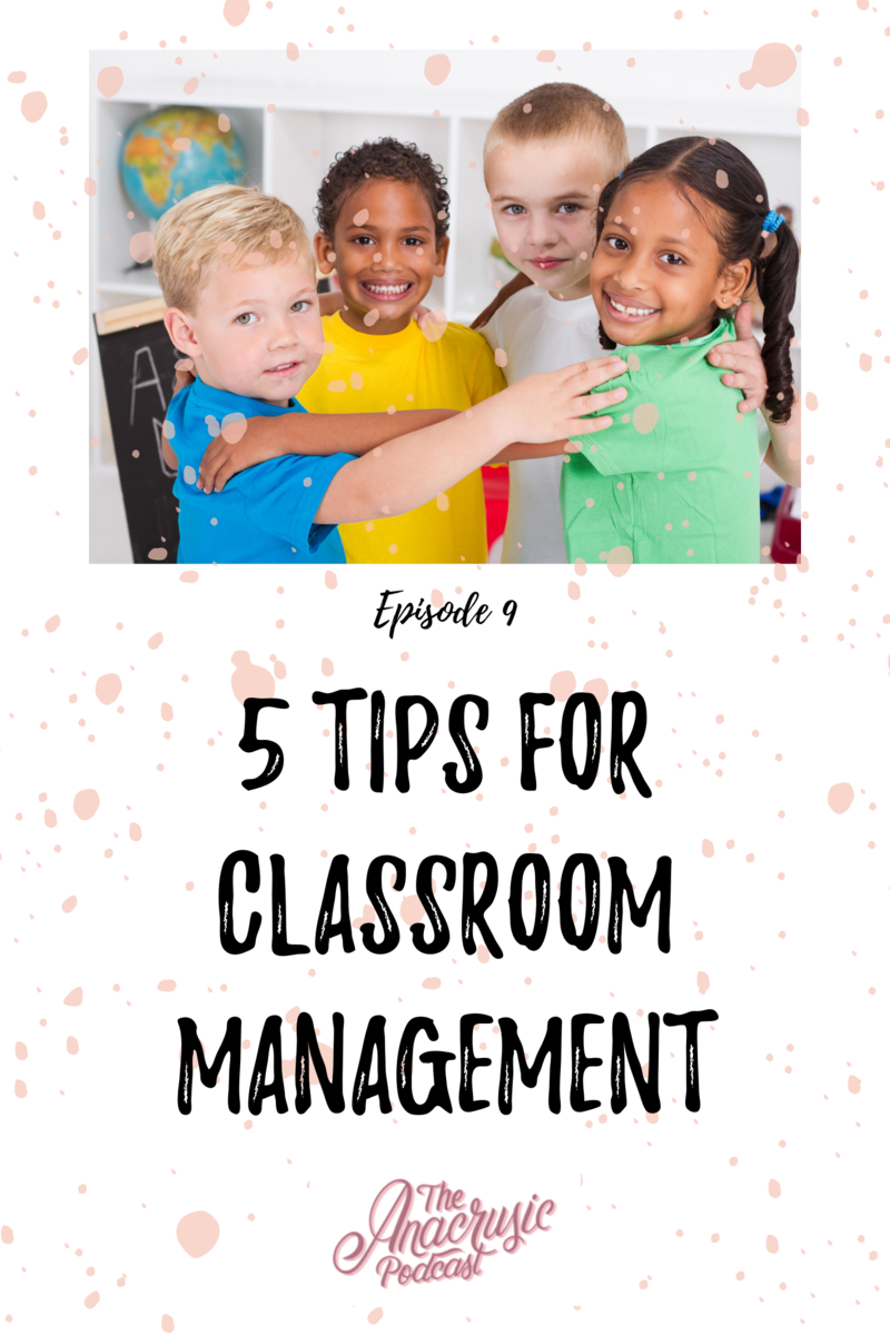 Read more about the article TAP 009 – 5 Tips for Classroom Management