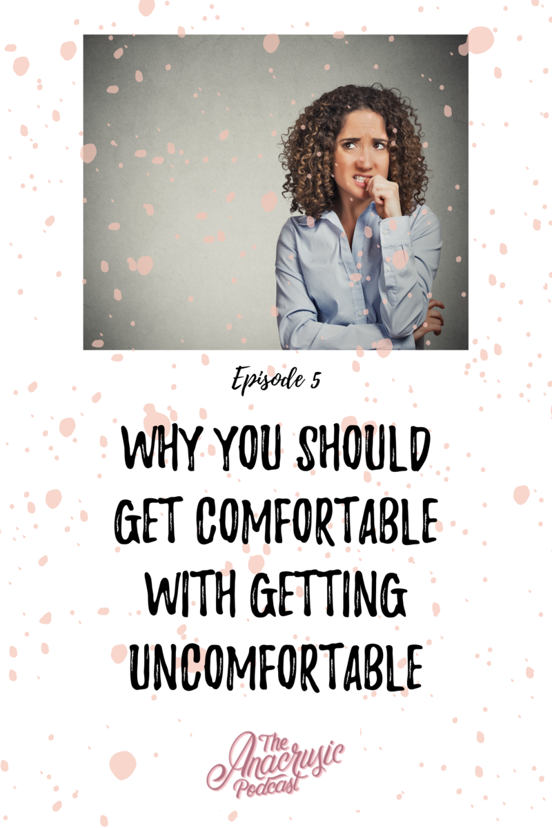 Read more about the article TAP 005 – Why You Should Get Comfortable With Getting Uncomfortable