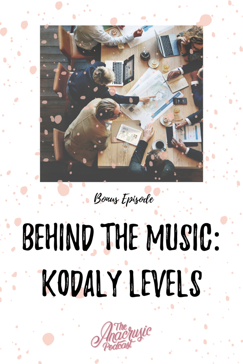 Read more about the article TAP BONUS #1 – Behind the Music – Kodály Levels
