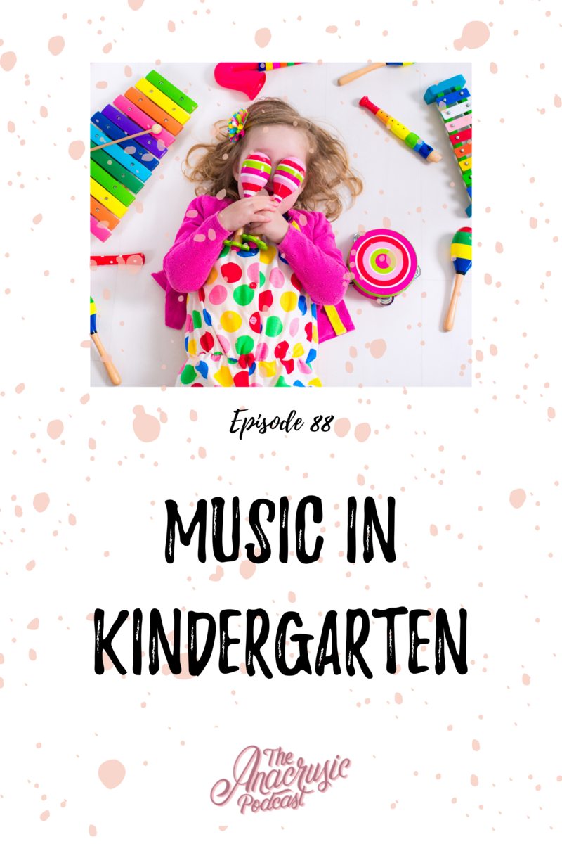 Read more about the article TAP 088 – Music in Kindergarten