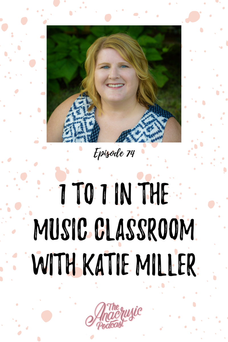 Read more about the article TAP 074 – 1 to 1 in the Music Classroom with Katie Miller