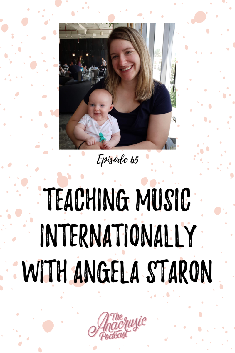 Read more about the article TAP 065 – Teaching Music Internationally with Angela Staron
