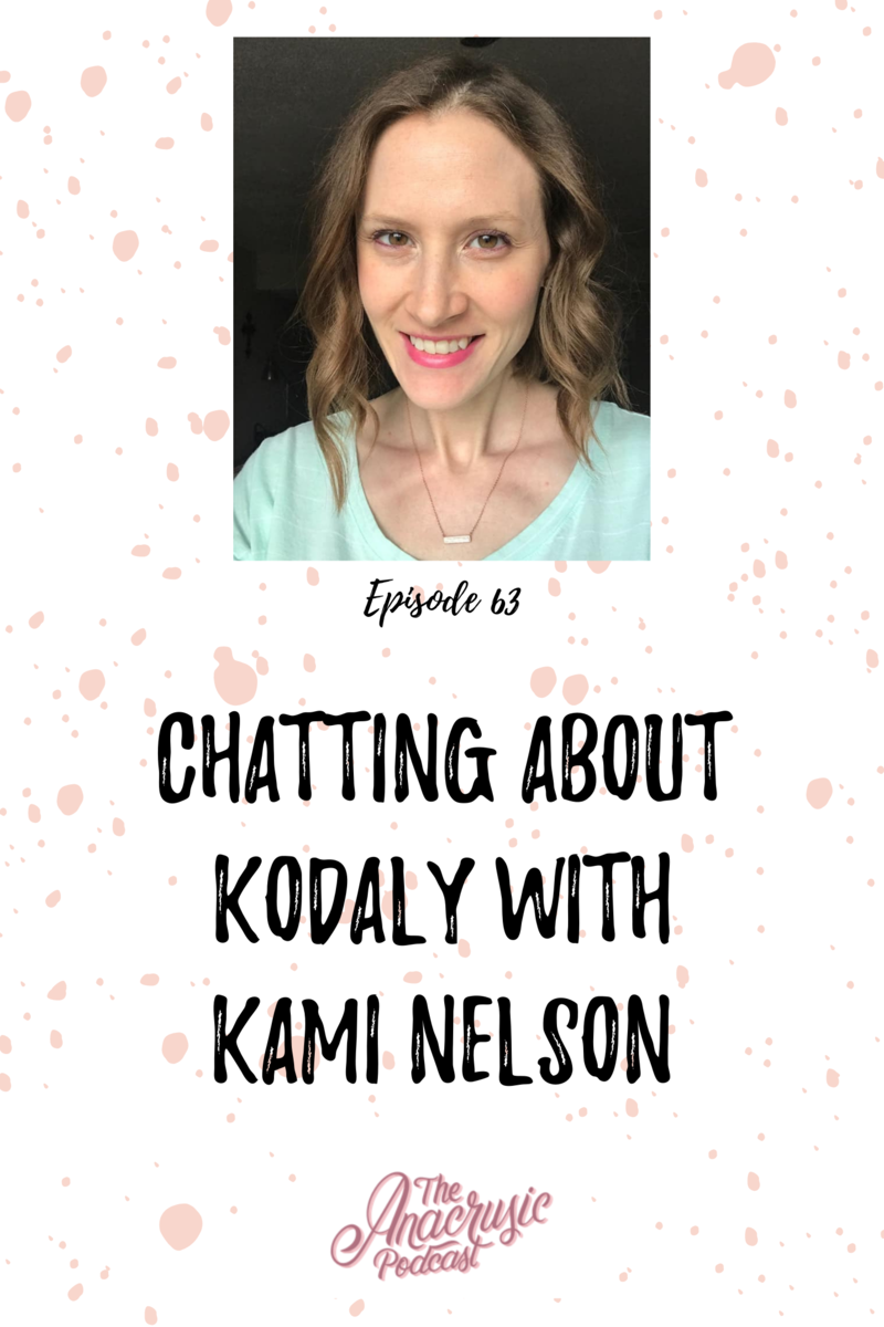 Read more about the article TAP 063 – Chatting About Kodály with Kami Nelson