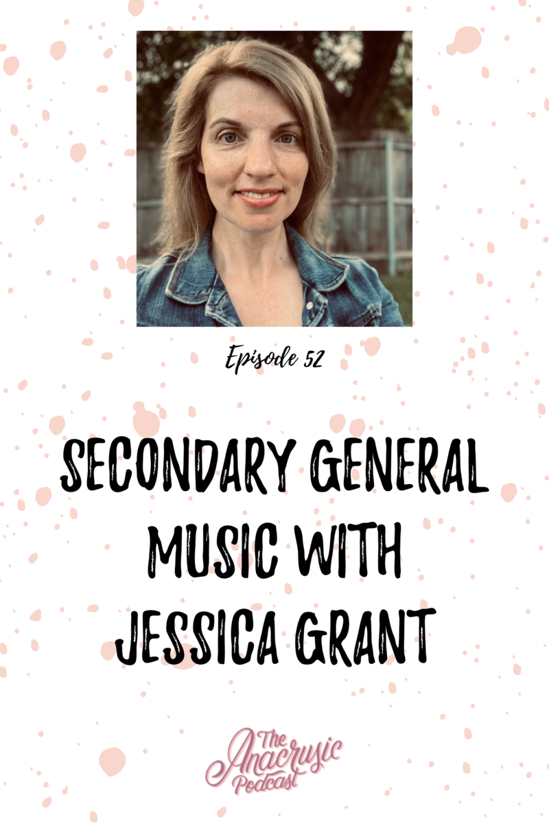 Read more about the article TAP 052 – Secondary General Music with Jessica Grant