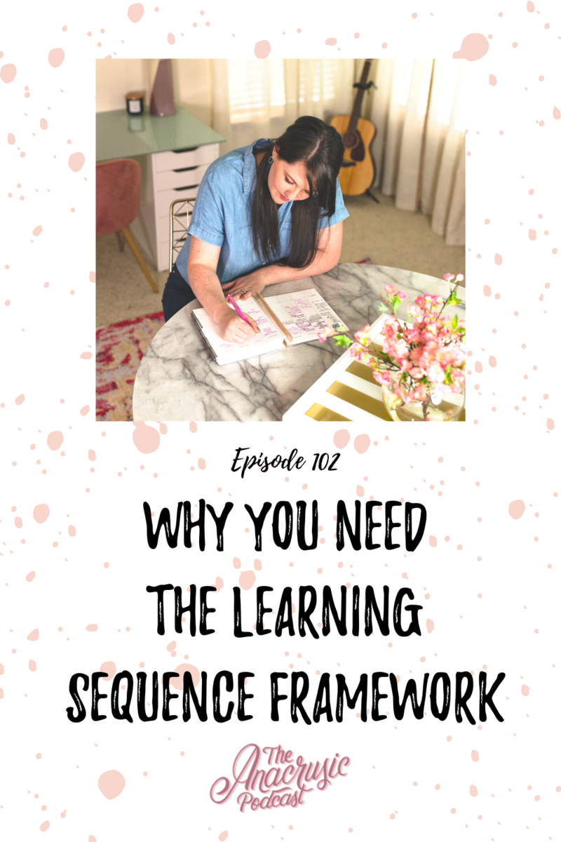 Read more about the article TAP 102 – Why You Need the Learning Sequence Framework